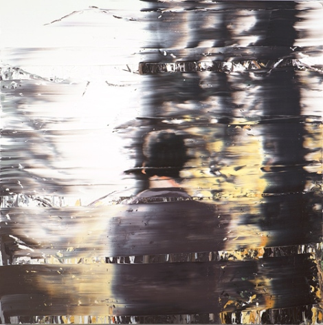 Into the Black Woods (2010),  oil on canvas by Andy Denzler